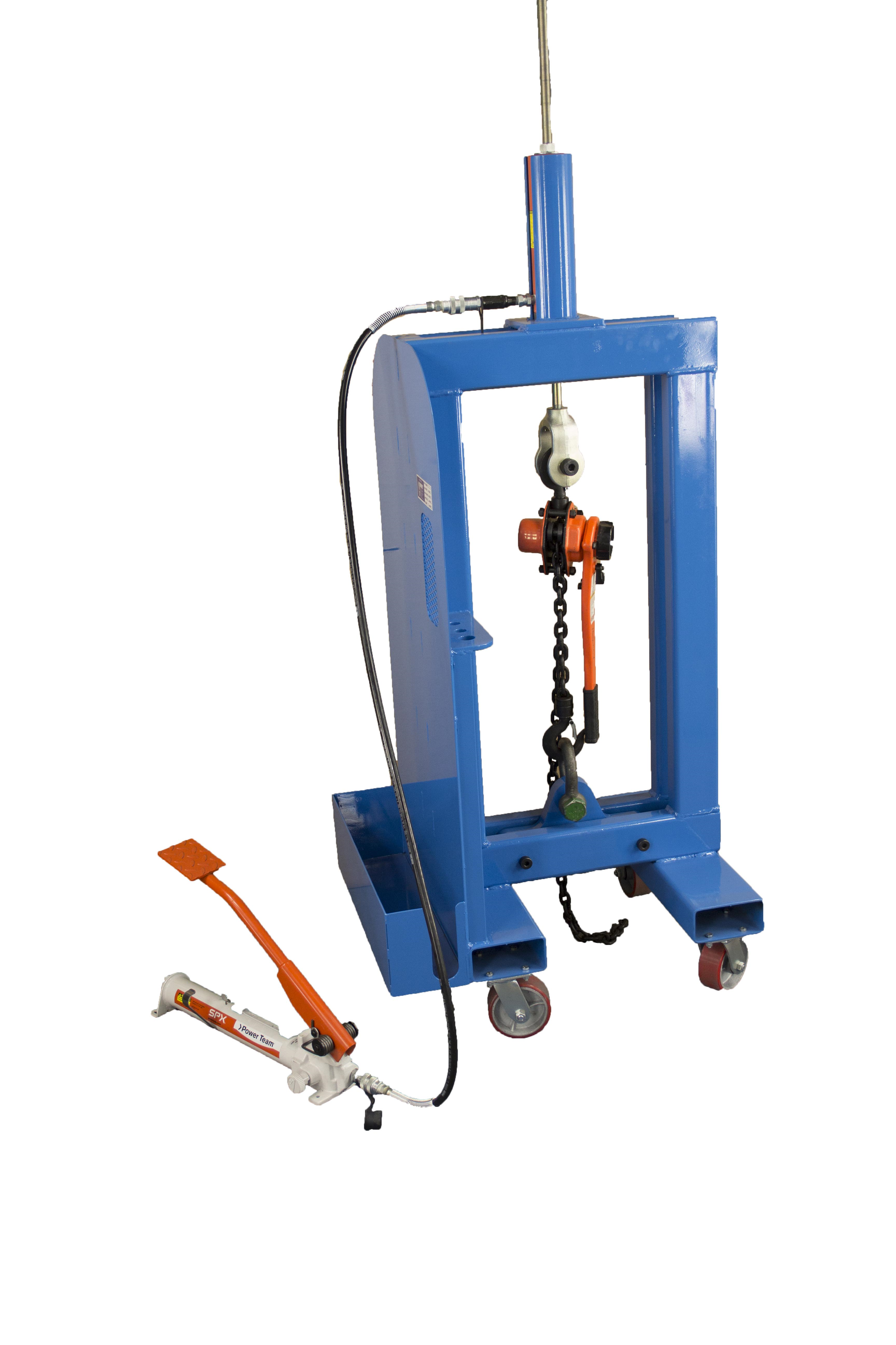 10 Ton Vertical Pull Tester