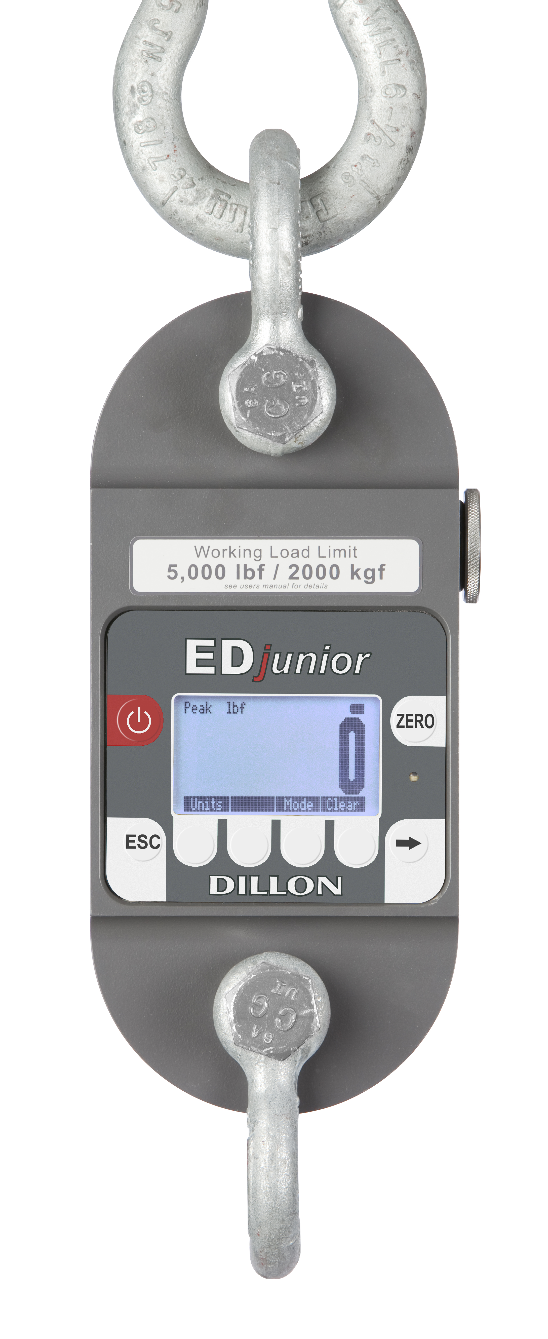 Dillon EDjunior 2014 right edjunior dynamometer scale measuring load cell muncy industries  at gsmx.co