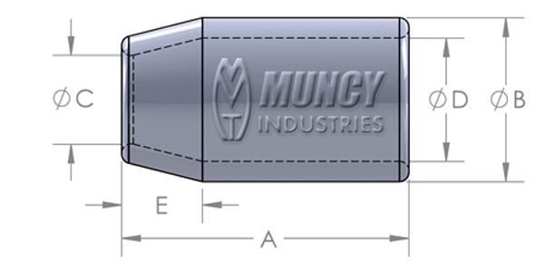 Flemish Eye Carbon Steel Sleeve Diagram
