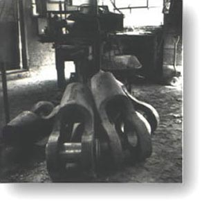 Image of the inside of the old Muncy Machine & Tool shop