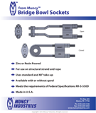 Bridge Bowl Socket Information Sheet