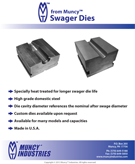 Swager Dies Information
