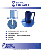 Information Sheet for Tea-Cup Fittings